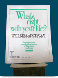 What's Right With Your Life - Wellness Appraisal